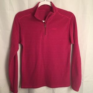 Patagonia girls youth pink Pullover fleece XL 14